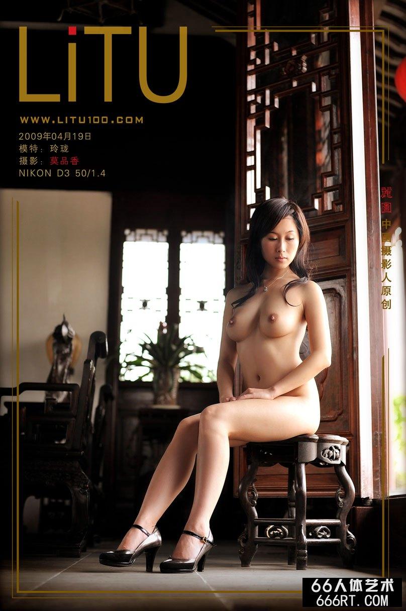 张筱雨渴望_嫩模玲珑09年4月19日老屋棚拍人体
