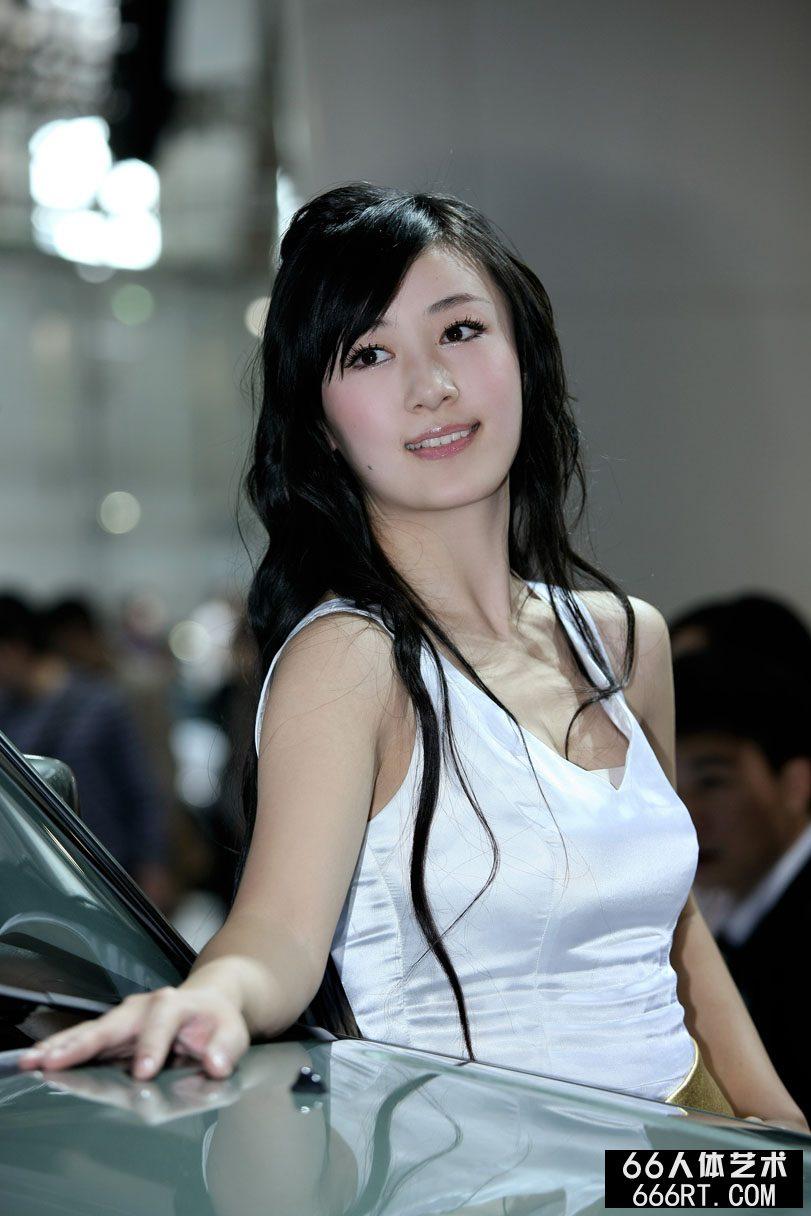 广州车展上的漂亮名模