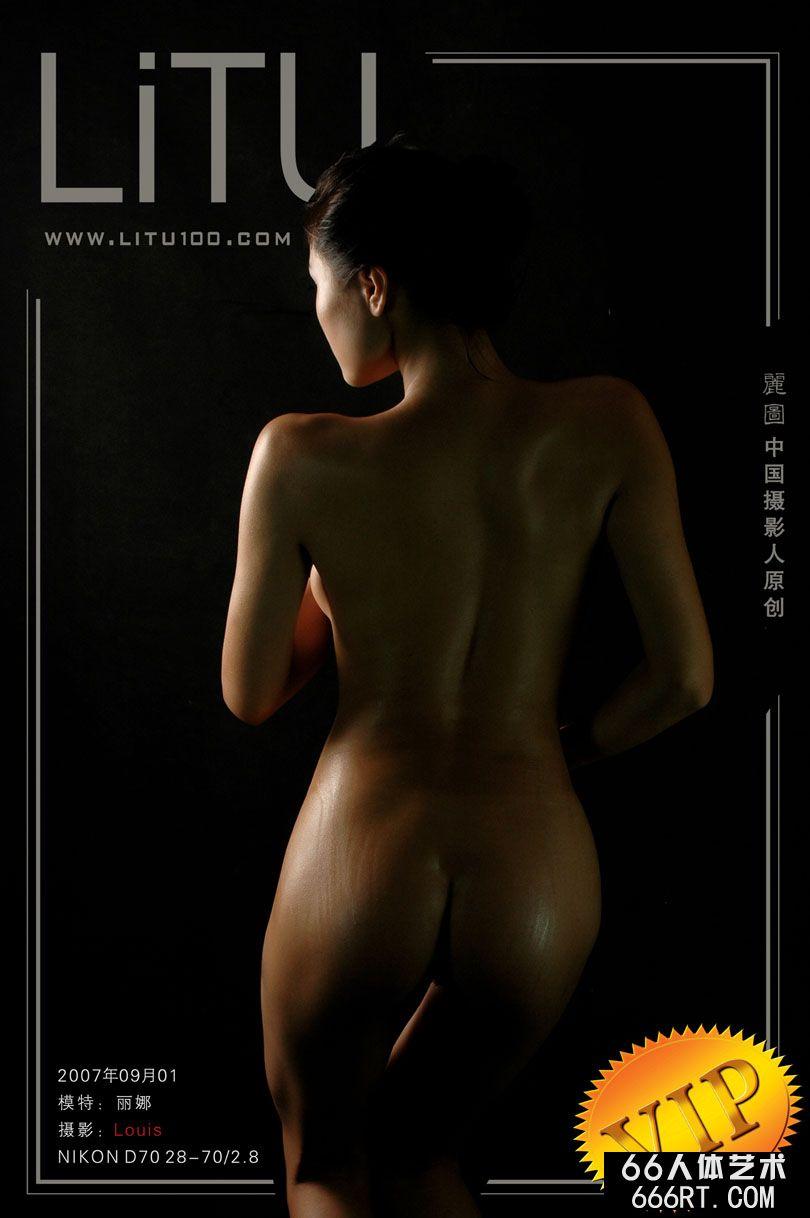 国模丽娜07年9月1日棚拍人体