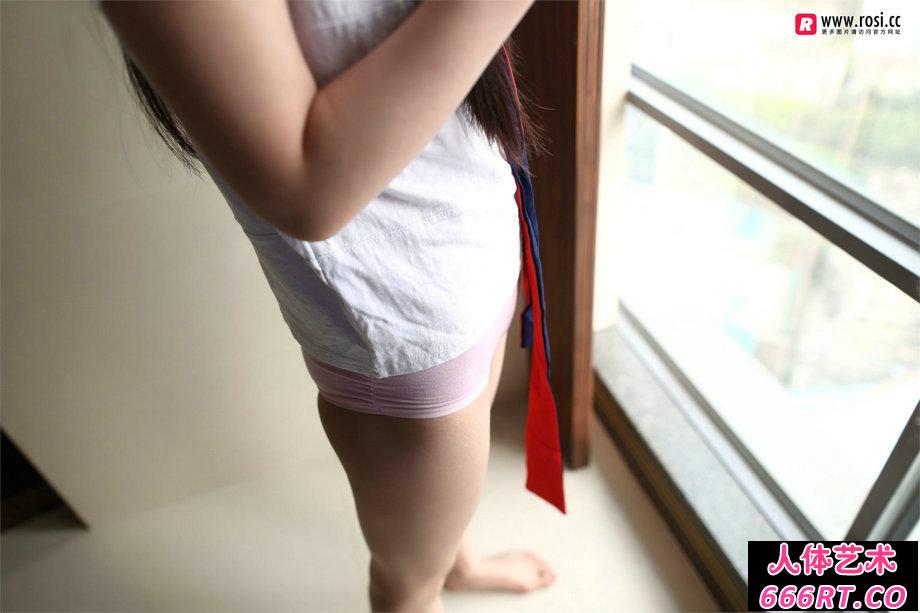 [ROSI写照]NO.2197室拍粉红棉质内裤