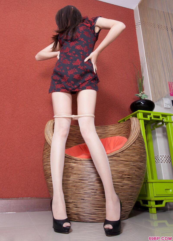 长腿名模Sabrina高跟肉丝火热人体